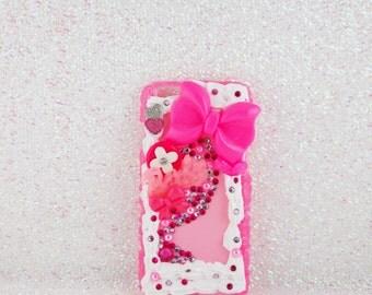 Iphone 6 Case, Iphone 6 Decoden Phone Case, Decoden Phone Case, Pink Barbie Case, Kawaii Case, Barbie Phone Case, Pink Phone Case