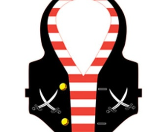 12/ Pirate Party  Vests