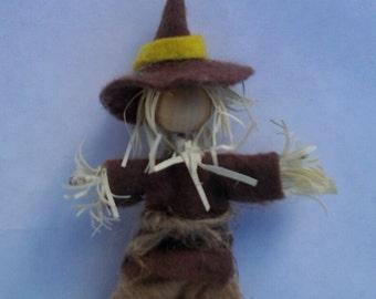 Scarecrow,the scarecrow doll, the Wizard of Oz, Waldorf, bendy doll