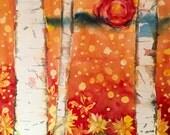Original Painting 30x36 Large Western Landscape - Fall Aspens - Colorado Fine Art Original Watercolor Painting - Pollen Count