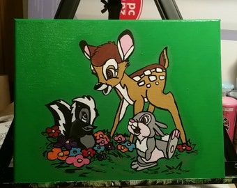 Bambi, Thumper and Flower, Bambi, MADE TO ORDER