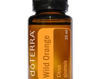 Doterra Wild Orange Essential Oil 15mL bottle