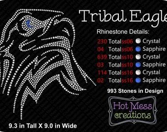 Tribal Eagle Rhinestone Download