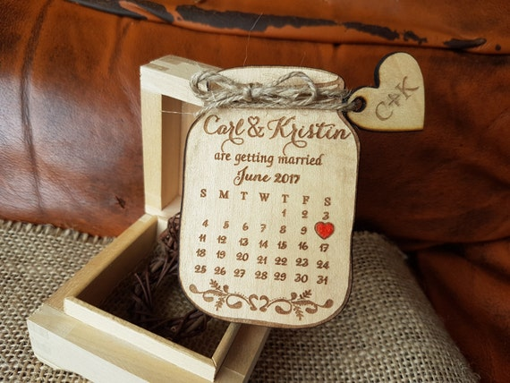 Mason Jar Save the Date magnets Mason Jar Magnet Custom Save