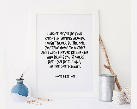 Inspirational One Direction Quotes: One Direction Quote ThisIsNotTheEndOfOneDirection Song Lyric