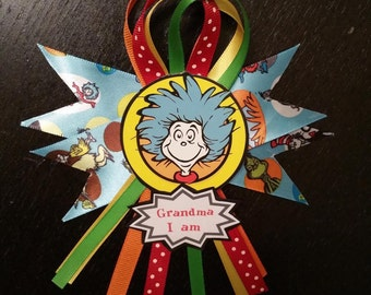 Dr. Seuss Baby Shower Small Corsage
