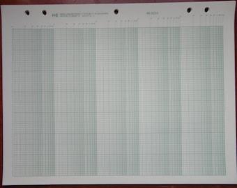 Semi-logarithmic graph paper, K&E 46 6210