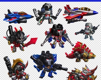 34 Images Transformers PNG - Instant Download