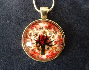 Tree of Life Pendant 1 inch with 18 inch Chain    Mothers Day Gift