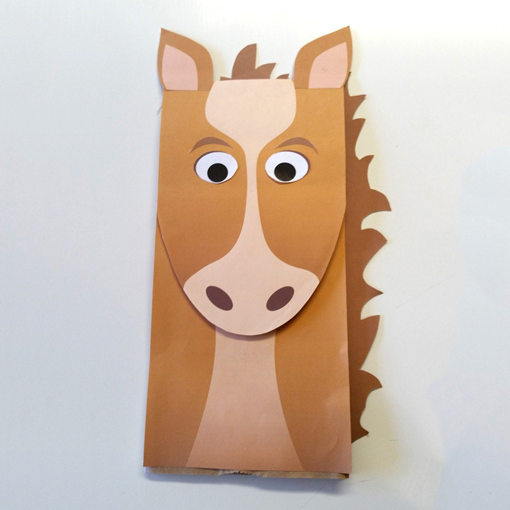 Gratifying image throughout printable paper bag puppets
