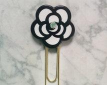 Planner Clip - Coco Camellia Flower - Kikki K, Mambi, ECLP, Filofax