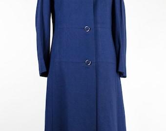 Vintage Overcoat // Blue
