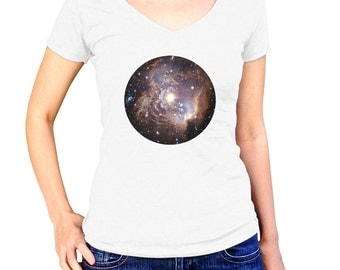 Cool Nebula Shirt - Galaxy Tshirt - Outer Space T Shirt - Astronaut T-Shirt - Solar System Tee - Astronomy Apparel - Science Clothing