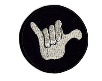 Hang LOOse Surfer Style Patch   M5                                       m4