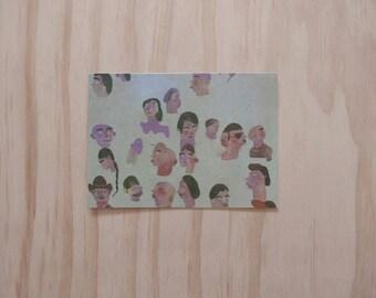 Limited Print Postcard (Crowd), 1/100