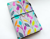 In Stock- Fabric Cover Fauxdori, Travelers Notebook, Midori insert, Cover fabric, A5, A6, Field Notes, Mini size, Pocket size