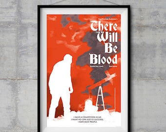 There Will Be Blood Alternative Poster - Halftone Artwork