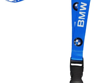 BMW Lanyard / BMW Key Chain Blue