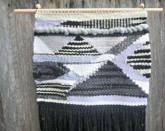 Woven Wall Hanging Monochromatic Weave