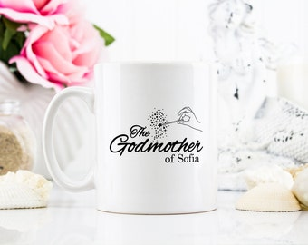 Coffee Mug - The Godmother, Best godmother ever, godmother mug, godmother gift, godmother invitation, godmother present -  Unique Mug - 0106