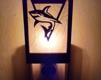 San Jose Sharks Logo Night Light