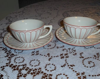 Harbor East Matching Cup and Saucer Set