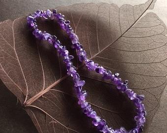 Amethyst Anklet, Amethyst Ankle Bracelet