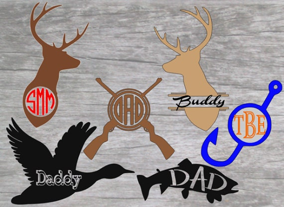 Hunting decals fishing decals yeti decal by justvinyldesigning for Hunting and fishing decals