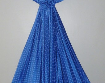Vintage 1970's Maxi Dress 10 - 12