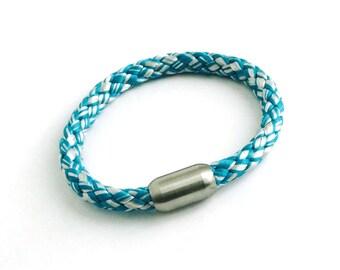 Blue and white sailor bracelet