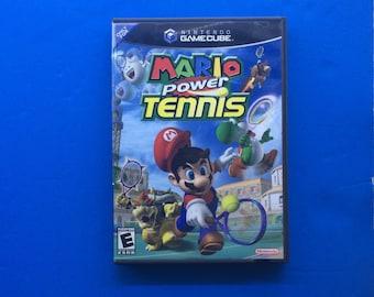 Complete Mario Power Tennis Gamecube Video Game