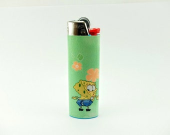 Spongebob Squarepants - Oops! Ripped his Pants! - Custom Lighter