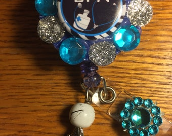 LPN Rectractable Badge Holder Pull Clip