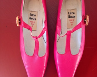 Vintage Euro Body Hot Pink Shoes