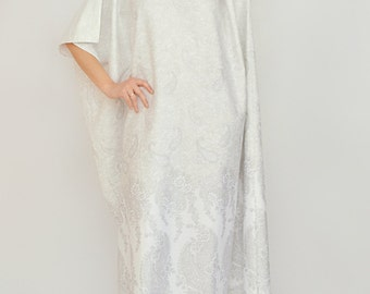 Kaftan  - soft cotton morning gown, robe, cotton night gown