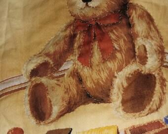 Bears having fun baby quilt