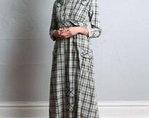 SALE- Antique Pioneer Dress . American Wild West Gown