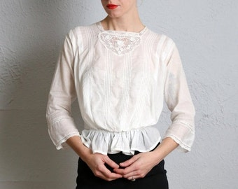 SALE- Antique 1800s Blouse