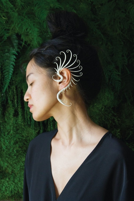 Ear Cuff with soft spikes