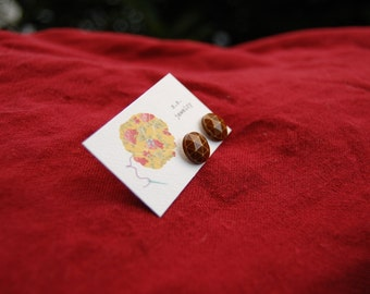 Carmel Geometric Post Earrings