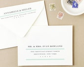 Printable DIY Wedding Envelope Template   INSTANT download   Classic   Calligraphy Alternative   for Word or Pages Mac & PC