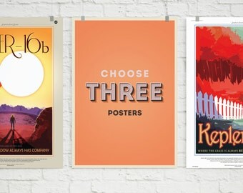 Choose Your Own 3 Poster Set