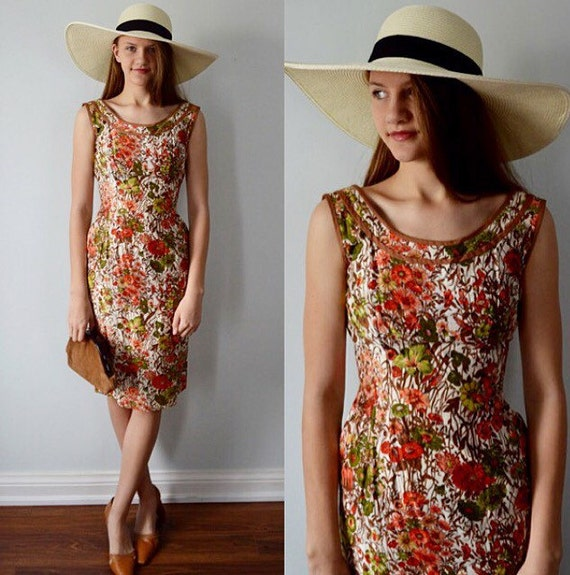 1950s resort dress - etsycom