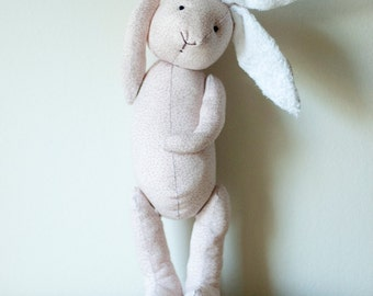 Cute Eco Friendly Bunny Baby Soft Pink Petal Plush