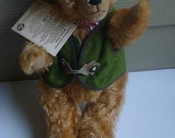 Hermann Mohair Bavarian Teddy Bear Limited Edition  Germany