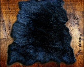 Faux Fur Sheepskin Rug - Tattered Edge -  Sheep Skin - Shaggy Soft - Designer Rugs by Fur Accents USA - New Sizes and Colors