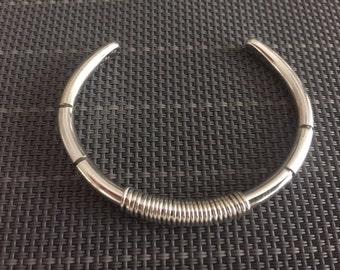 Unisex Heavy 6 gauge Cuff Bracelet