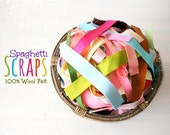 100% Wool Felt Scraps 3oz. - Merino Wool Felt Scraps - 3 Ounces of  Wool Felt Stripes Scrap - Ribbon Wool Felt Scraps - Remnants Grab Bag