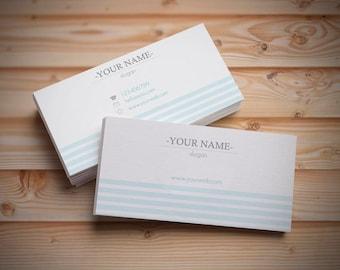 Customizable business card template, Customized business cards, Digital cards, Custom business card, Premade business cards, Printable cards