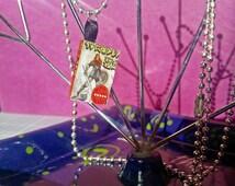 "Varric Tethras' ""Swords & Shields"" Mini Book Necklace | Dragon Age: Inquisition Book Necklace"